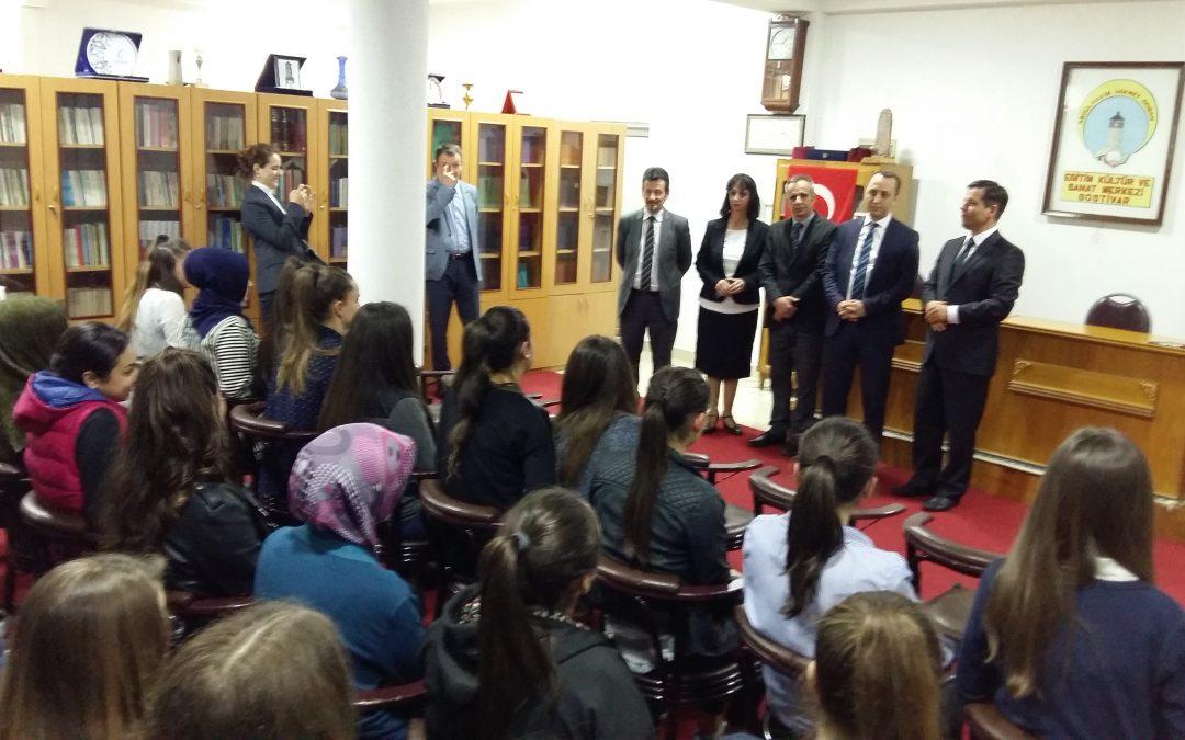 TİKA Makedonya Proğram Koordinatörü ADEKSAM'ı…