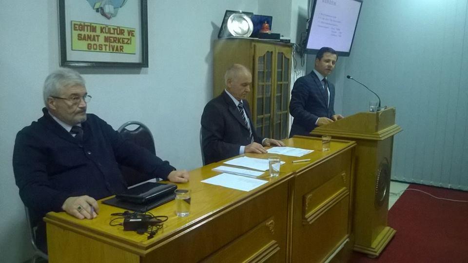 """11 Ekim 2016 tarihinde""""Abdülhakim Hikmet Doğan"""" – Eğitim, Kültür ve Sanat Merkezi ADEKSAM, Olağan Genel ve Seçim Meclis toplantısı düzenlendi."""