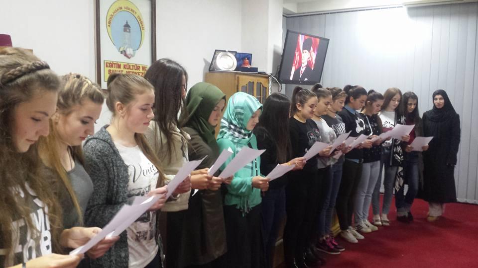 """""""10 Kasım Atatürk'ü Anma"""" Programı"""