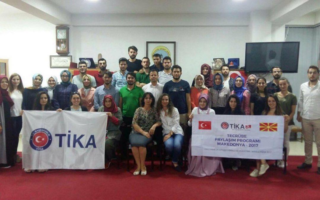TİKA'nın Gönüllü Elçileri ADEKSAM'da