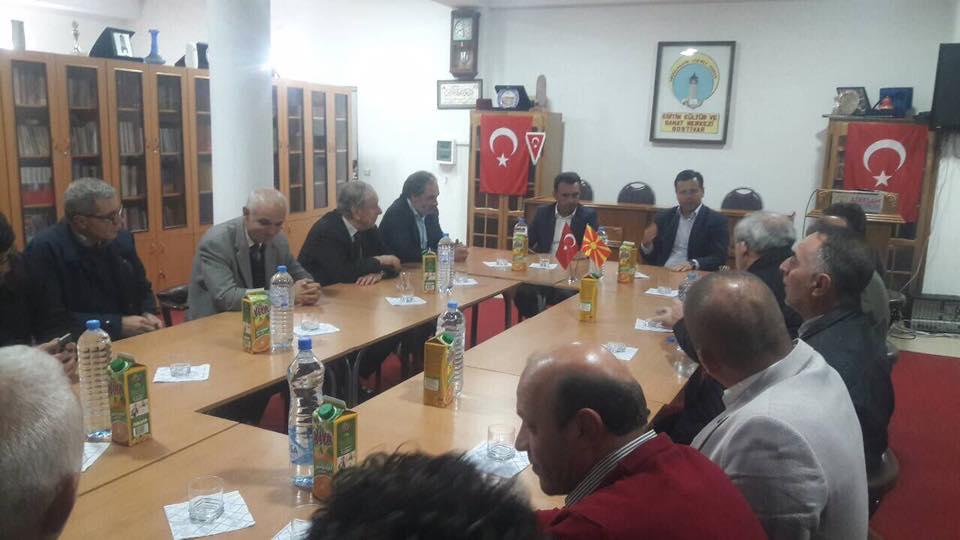 TDP Gostivar Şubesi Başkanı ADEKSAM'ı Ziyaret Etti