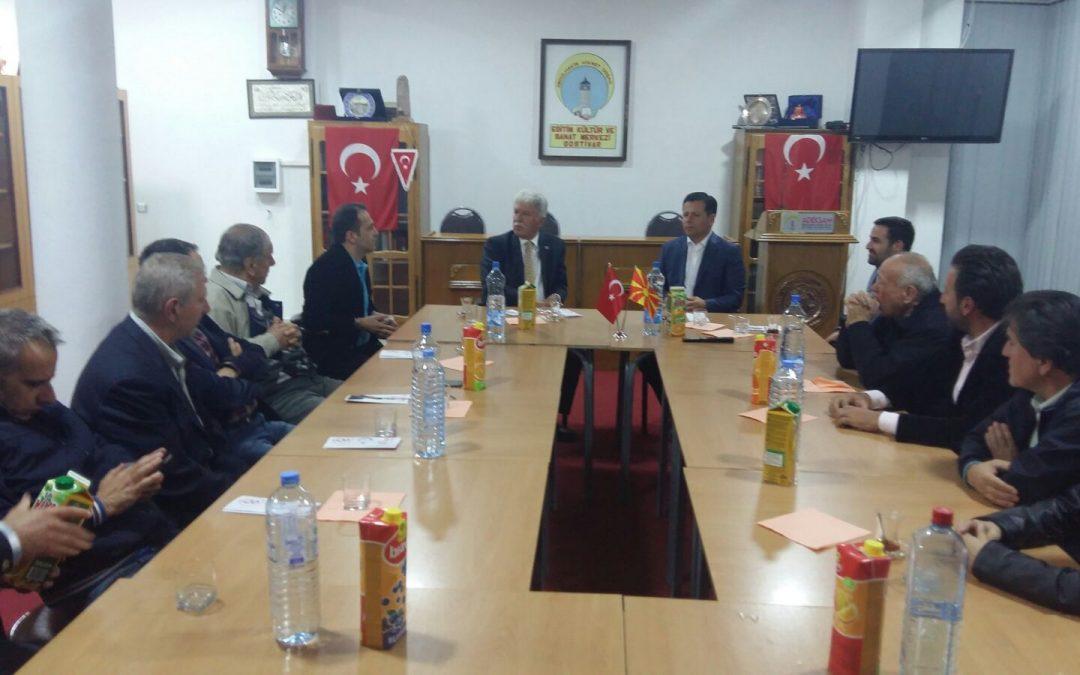 TMBH Genel Başkanı ADEKSAM'ı Ziyaret Etti
