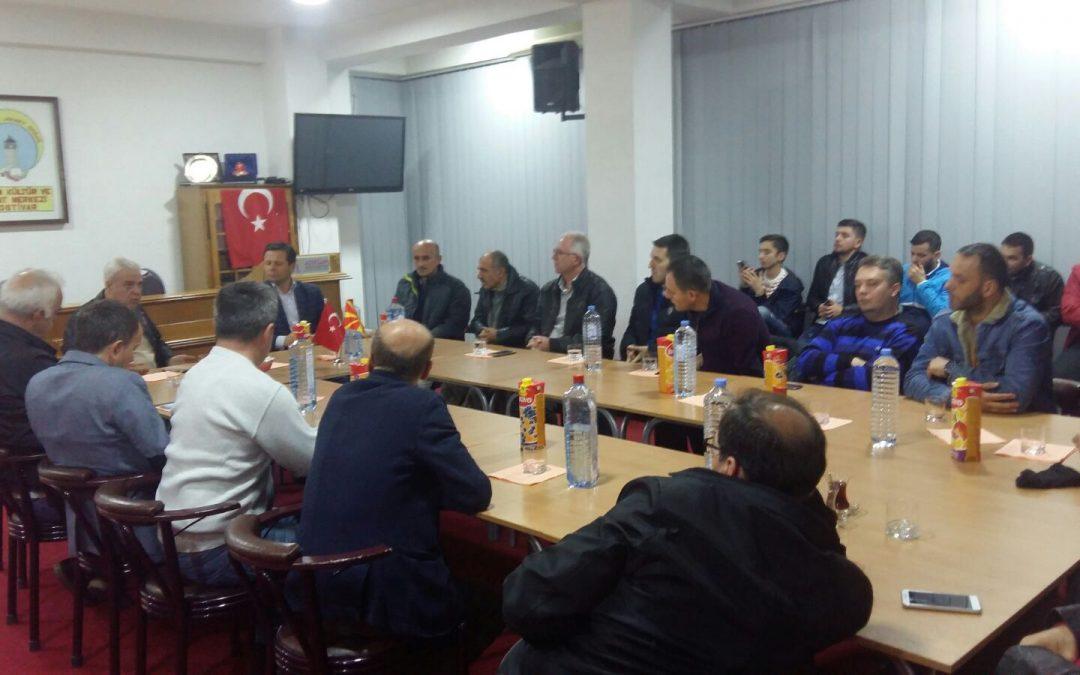 THP Genel Başkanı ve Devlet Bakanı ADEKSAM'ı Ziyaret Etti