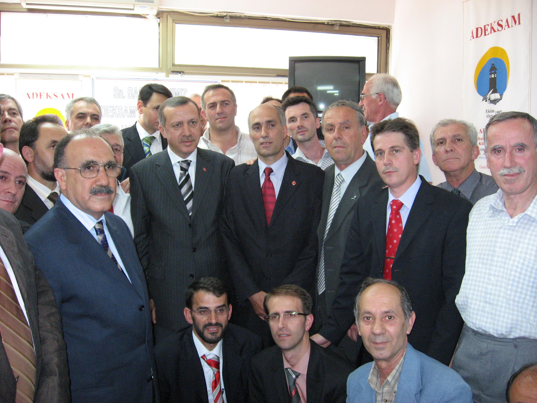 Türkiye Cumhuriyet Başbakanı ADEKSAM Ziyareti