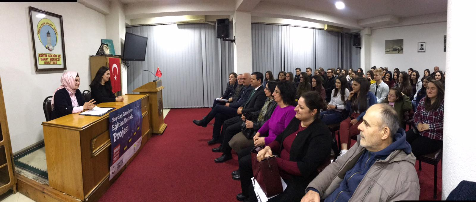YTB – Yurtdışı Türkler ve Akraba Topluluklar Başkanlığı desteğiyle Soydaş Gençlere Eğitim Destek Projesi Kapsamında Konferans Düzenlendi