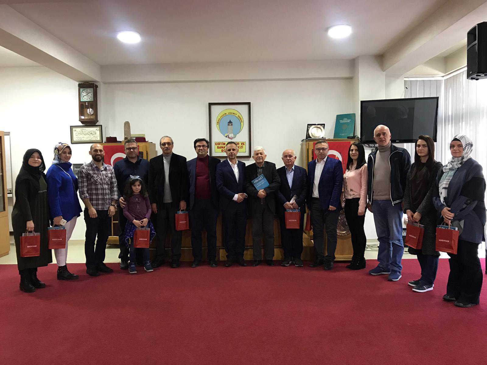 Avrasya Yazarlar Birliği ve Balkan Yazarlar Birliği Ziyareti