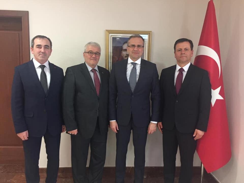 Türkiye Cumhuriyeti Üsküp Büyükelçiliği Ziyareti