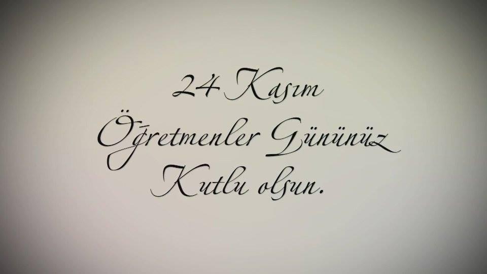 24 Kasım Öğretmenler Günü ADEKSAM'da Kutlandı