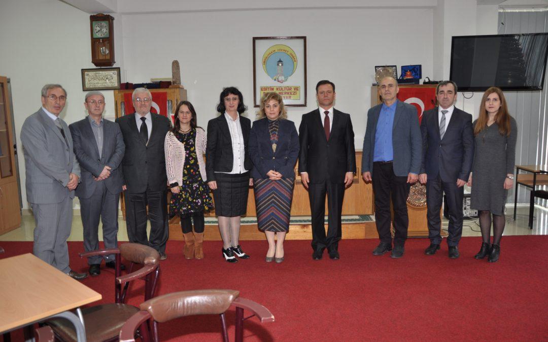 Türkiye Cumhuriyeti Üsküp Büyükelçisi Sn. Tülin Erkal KARA, ADEKSAM'ı ziyaret etti.
