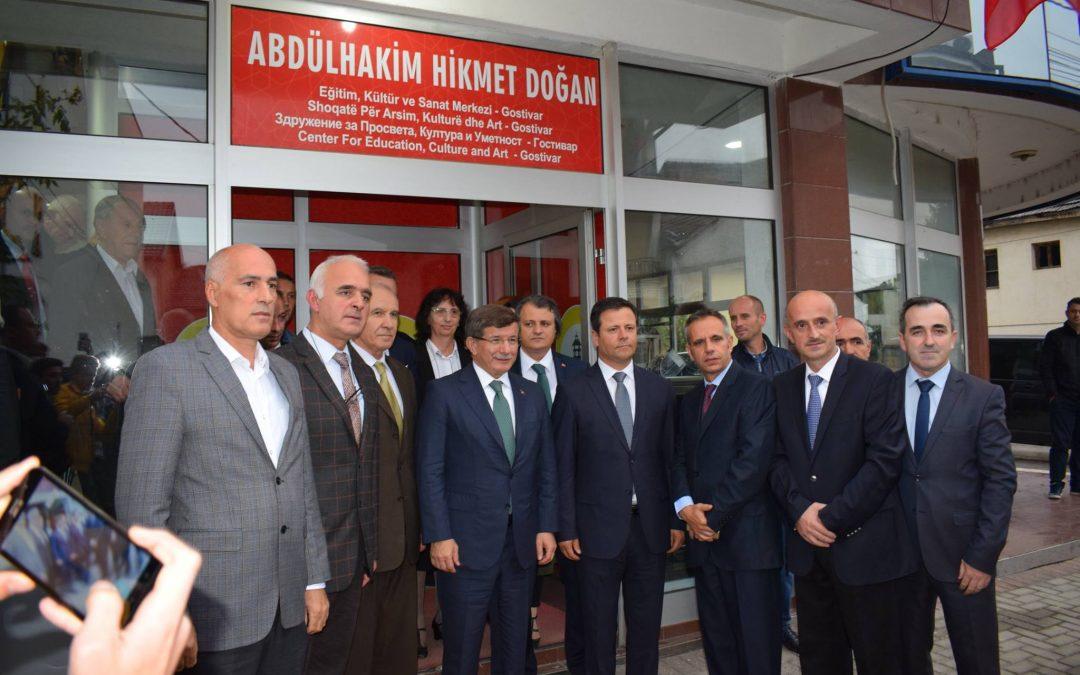 Sayın Prof. Dr. Ahmet Davutoğlu ADEKSAM Ziyareti