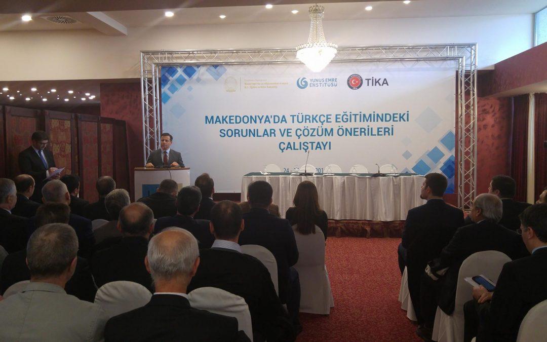 Makedonya'da Türkçe Eğitimindeki Sorunlar ve Çözüm Önerileri Çalıştayı