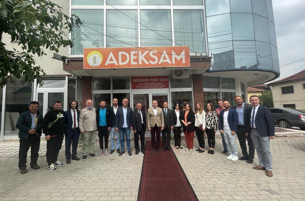 Türkiye Cumhuriyeti Üsküp Büyükelçisi Sayın Hasan Mehmet Sekizkök'ün ADEKSAM ziyareti.